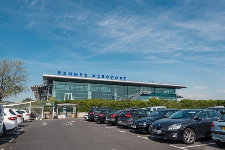 parking aéroport rennes