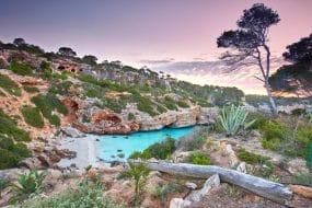 Cala de Moro, Majorque, Espagne
