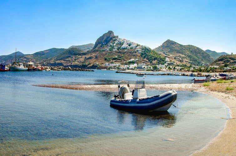 plages de Magazia, skyros