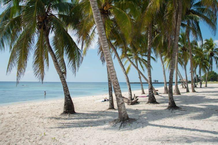 Plage Playa Girón, Cuba