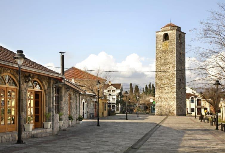 La vieille ville de Podgorica