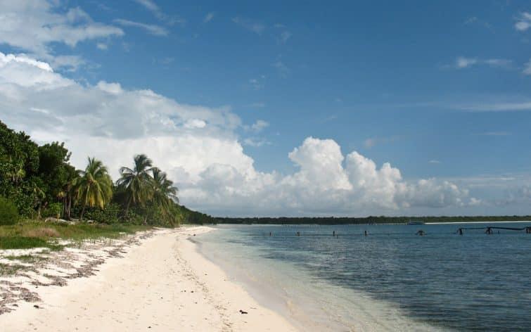 Plage de Punta Francés, Isla de la Juventud, Cuba