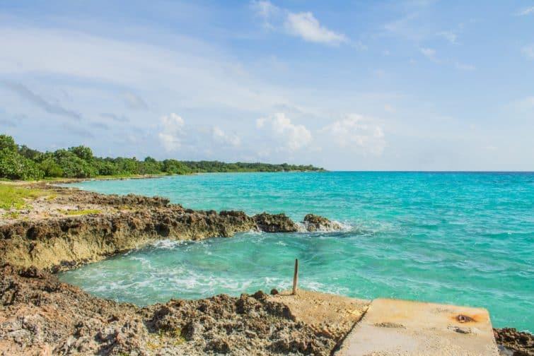 Plage de Punta Perdiz à Cuba