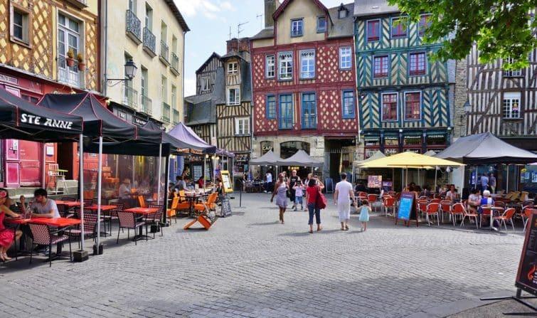 Centre-ville de Rennes
