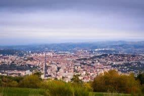 Vue panoramique sur Saint-Etienne