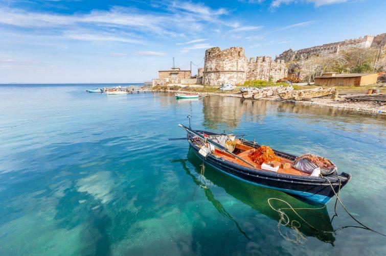 Mytilini sur l'île de Lesbos