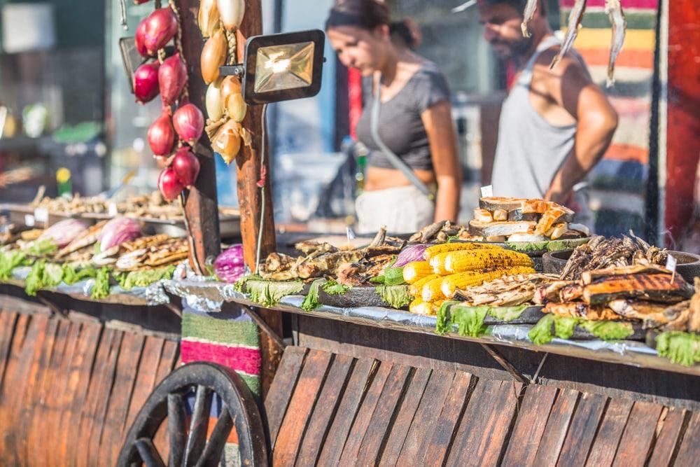 Cuisine de rue en Bulgarie