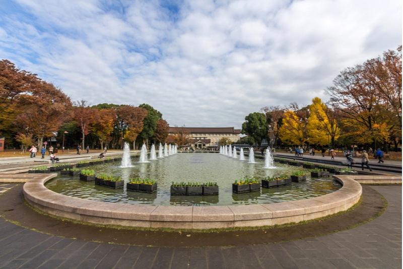 Fontaines, Musée national de Tokyo