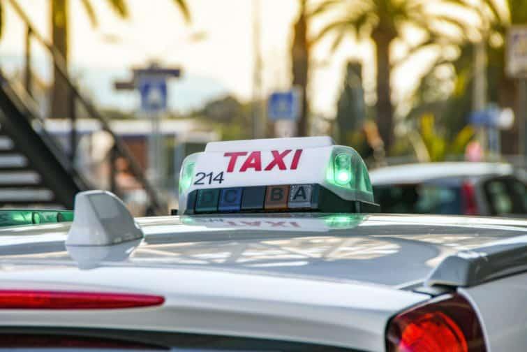 taxi de Nice à Monaco
