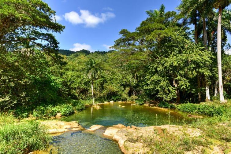 Nicho Waterfalls, Parc natuel de Topes de Collantes, Cuba