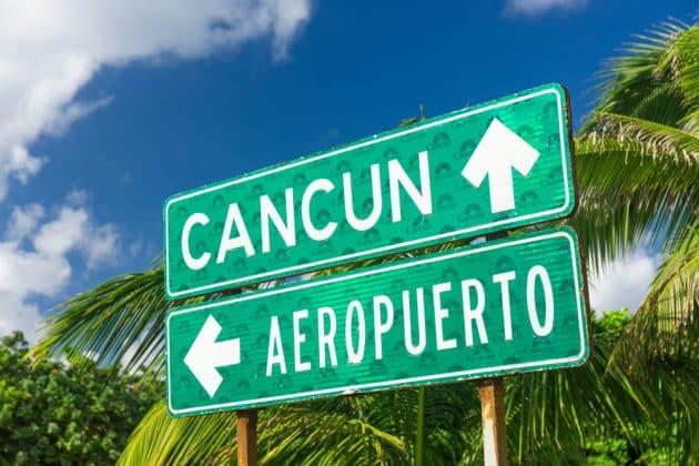 Transfert entre l'aéroport de Cancun et le centre