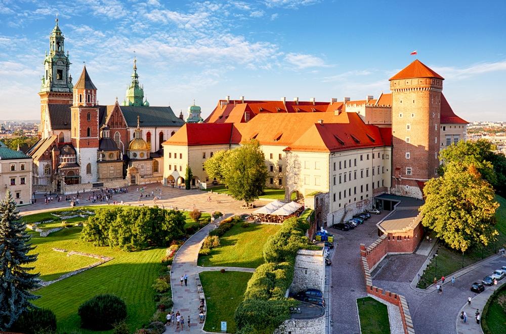 Château à Cracovie
