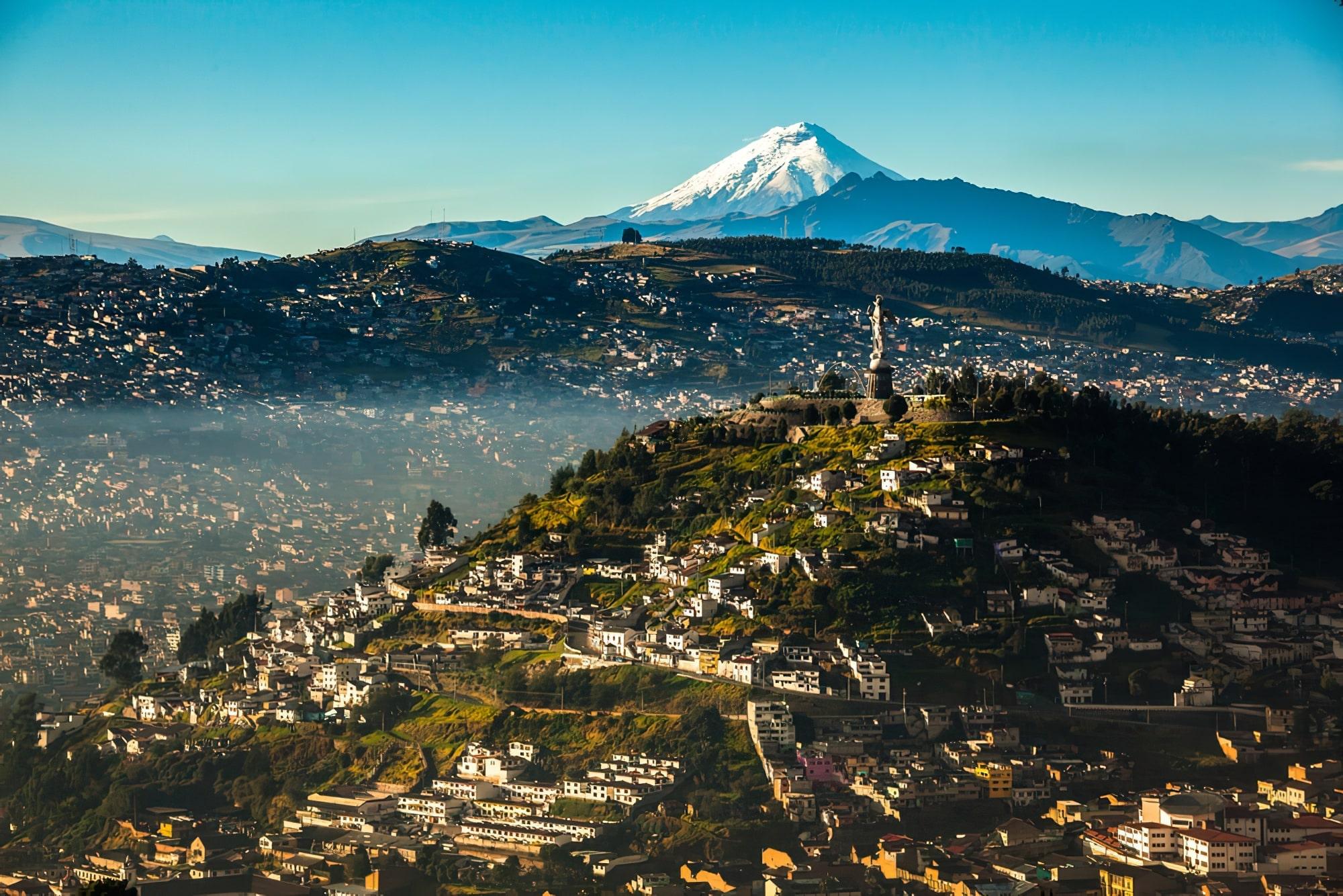 El Panecillo, Equateur