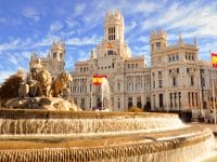 Fontaine Cibeles, Madrid