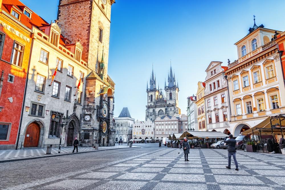 Vieille ville de Prague