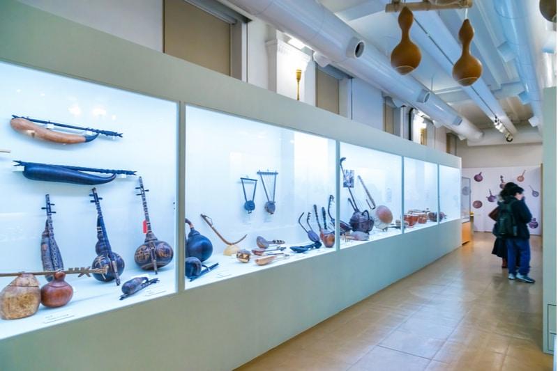 Galerie au musée national de Tokyo