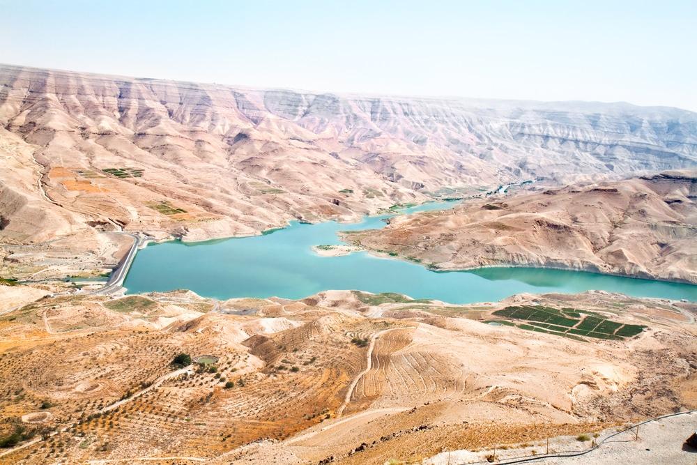 Vue sur  Wadi Mujib
