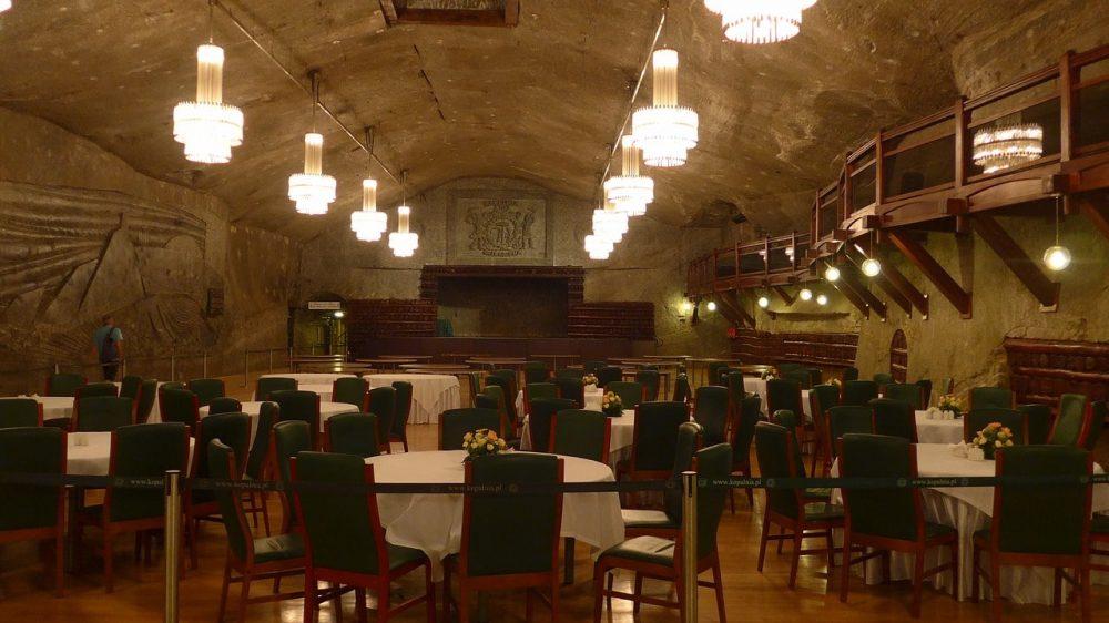 Mines de sel de Wieliczka, restaurant
