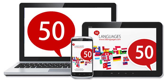 Application 50languages
