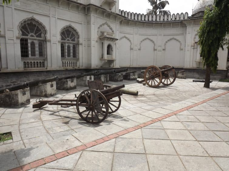 Canons, AP State Museum, Hyderabad