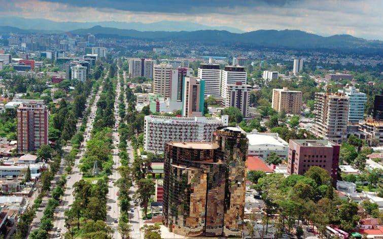 Avenida Reforma, Guatemala City
