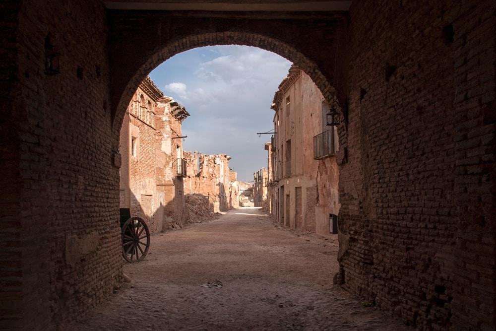 Village abandonné de Belchite, Espagne