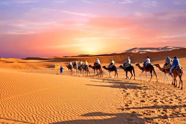 Visiter le désert du Sahara à dos de Méhari : réservation & tarifs