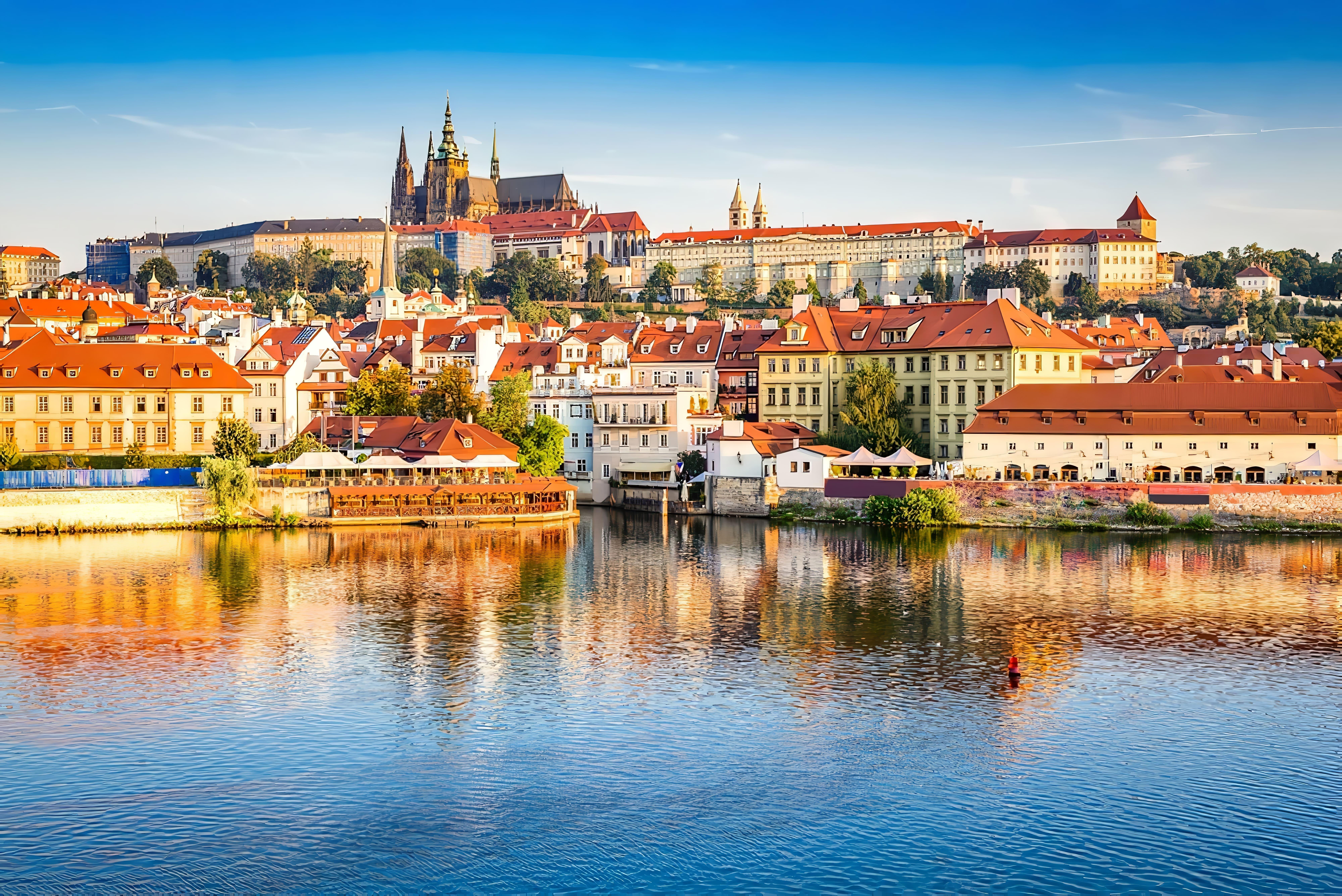 Château de Prague de jour