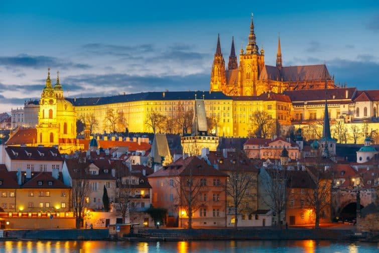 Château de Prague vue
