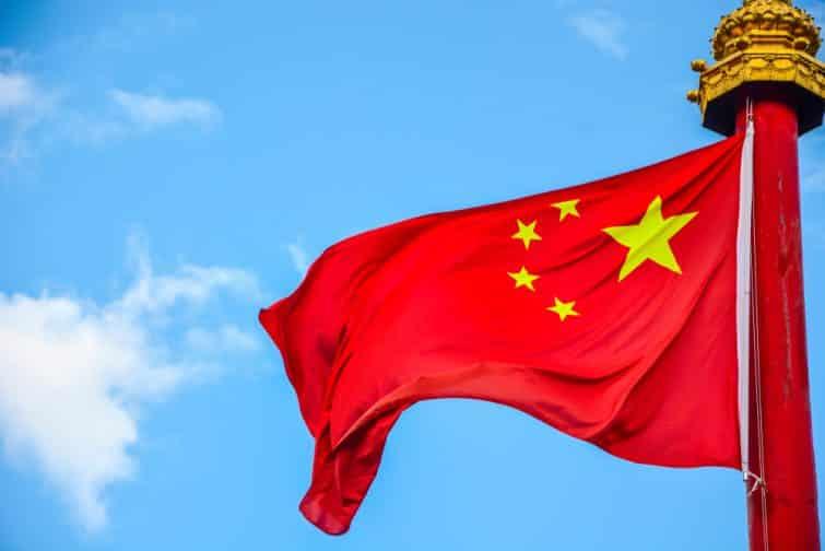 Chinois drapeau