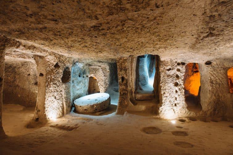 Ville souterraine de Derinkuyu, grotte