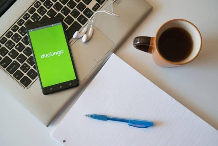 Apprendre une langue avec Duolingo