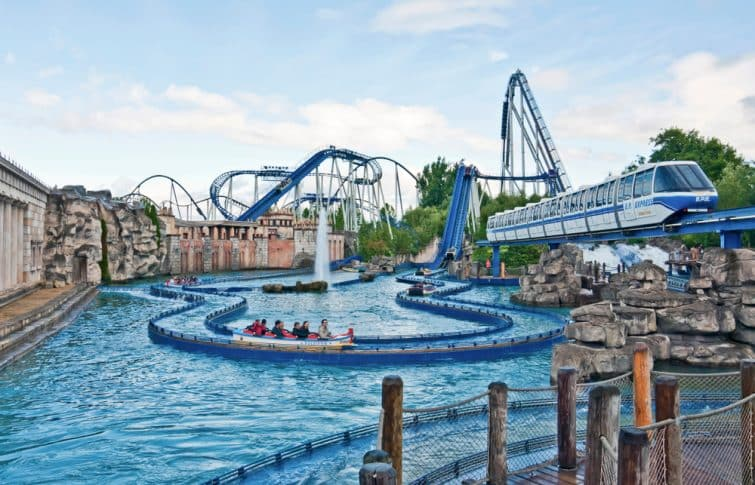 Europa park attraction eau