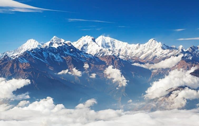 Ganesh Himal, Népal