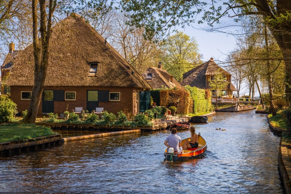 Giethoorn canaux