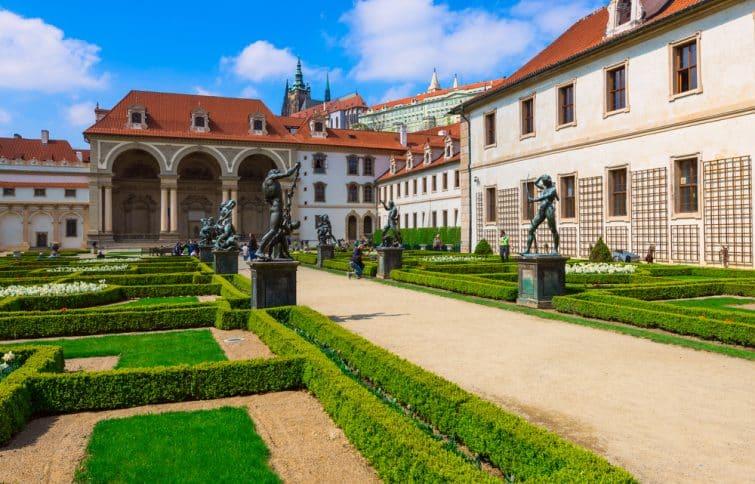 Jardin du château de Prague