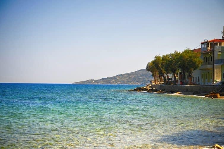 Kataraktis sur l'île de Chios