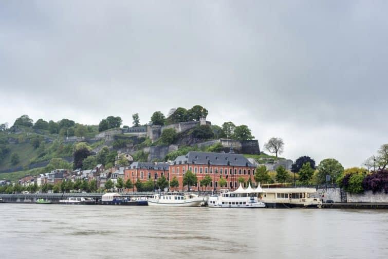 La Sambre, péniche, Namur