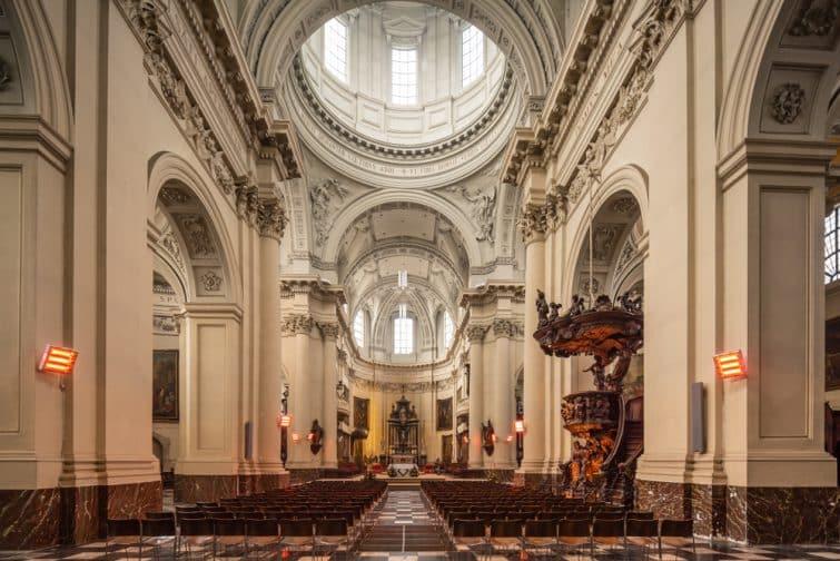 La cathédrale Saint-Aubain, Namur