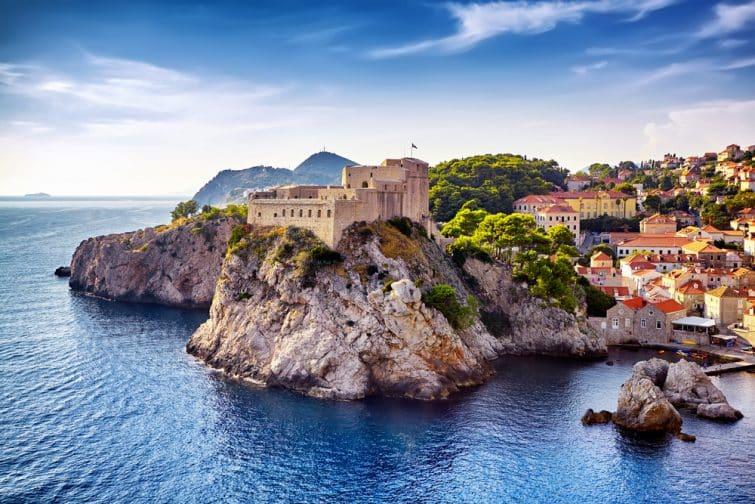 La forteresse Lovrijenac, Dubrovnik