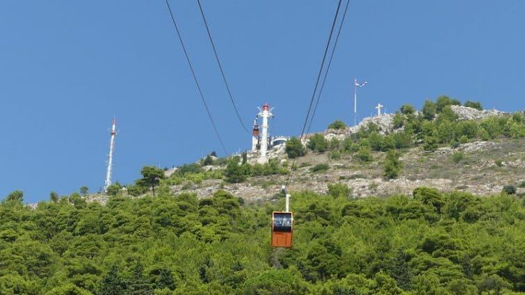 Le mont Srđ, Dubrovnik