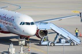 Mulhouse avion garé