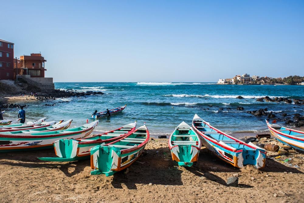 Plages proches de Dakar, Sénégal
