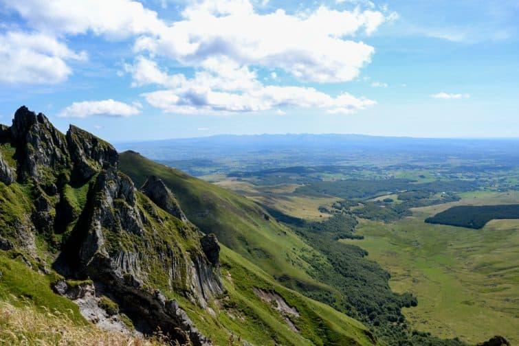 Vue sur le Puy de Sancy, Auvergne