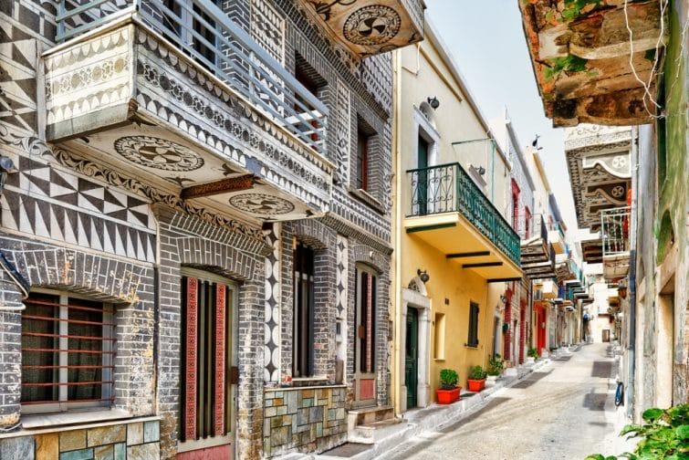 Village de Pyrgi, Chios