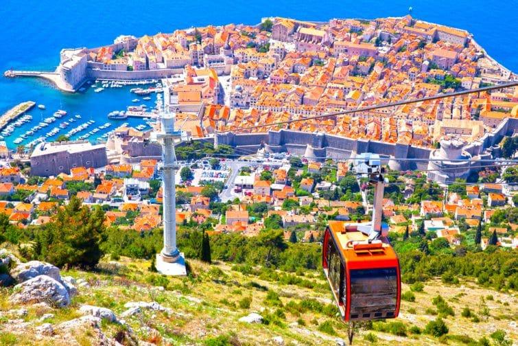 Ville fortifiée de Dubrovnik, croatie