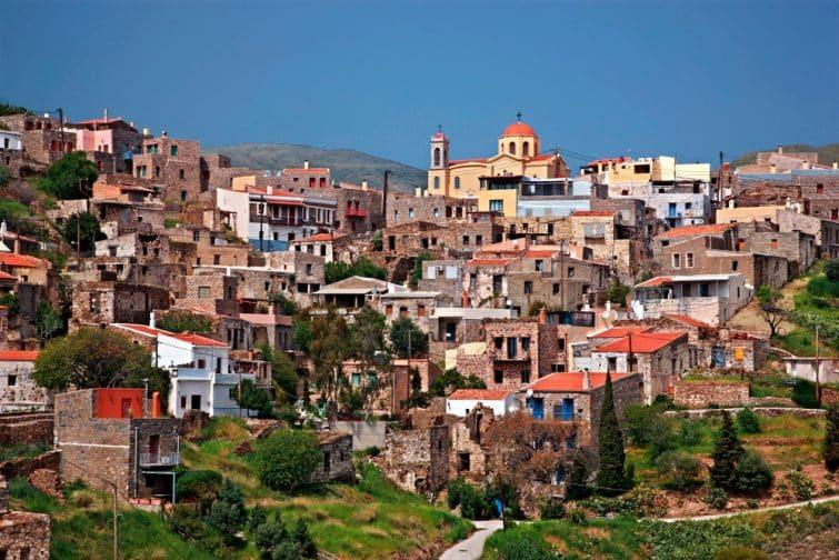 Village de Volissos, Chios