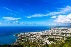 Vue sur Saint-Denis (île de la Réunion)