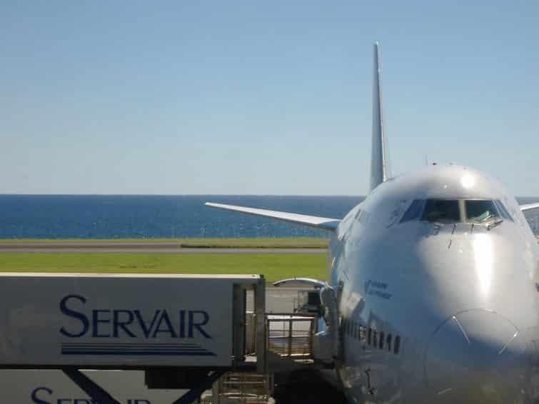 aéroport avion la réunion