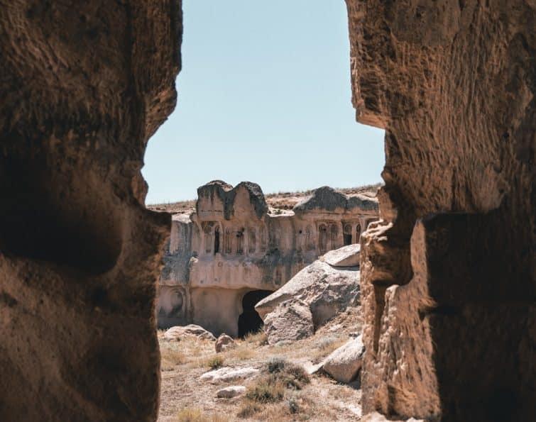 Açik Saray, Cappadoce, Turquie